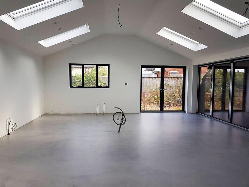 Ipswich Concrete Kitchen Floor - Fortis Coatings