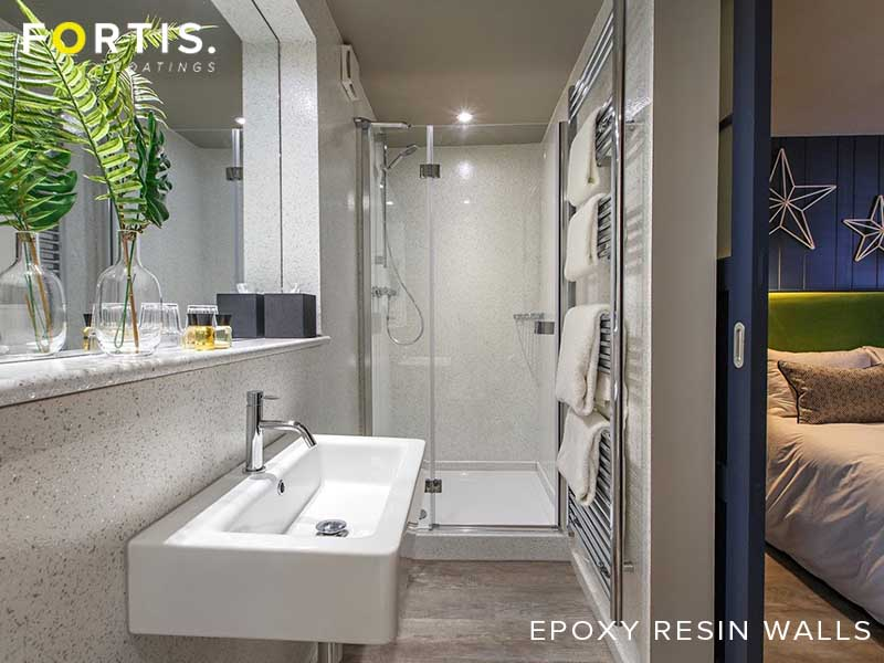Seamless Epoxy Resin Bathroom Walls - Epoxy resin walls ...